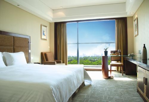 Daysun int'L Hotel Guangzhou park-view business room (king bed)