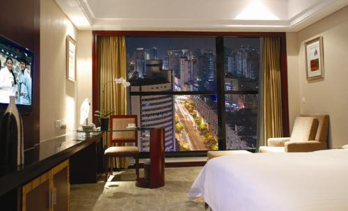 Daysun int'L Hotel Guangzhou night-view business room (king bed)